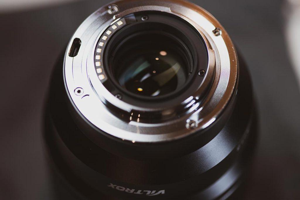 Viltrox 85mm back lens element