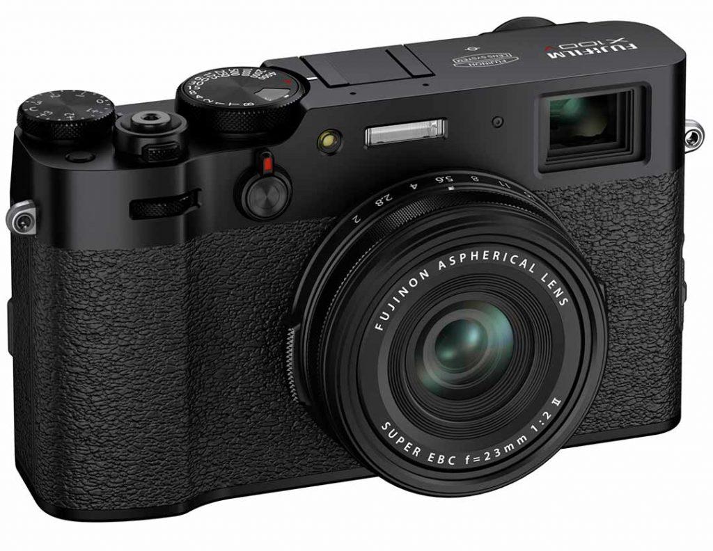 Fujifilm X100V black model