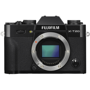 front view of the Fujfilm XT20