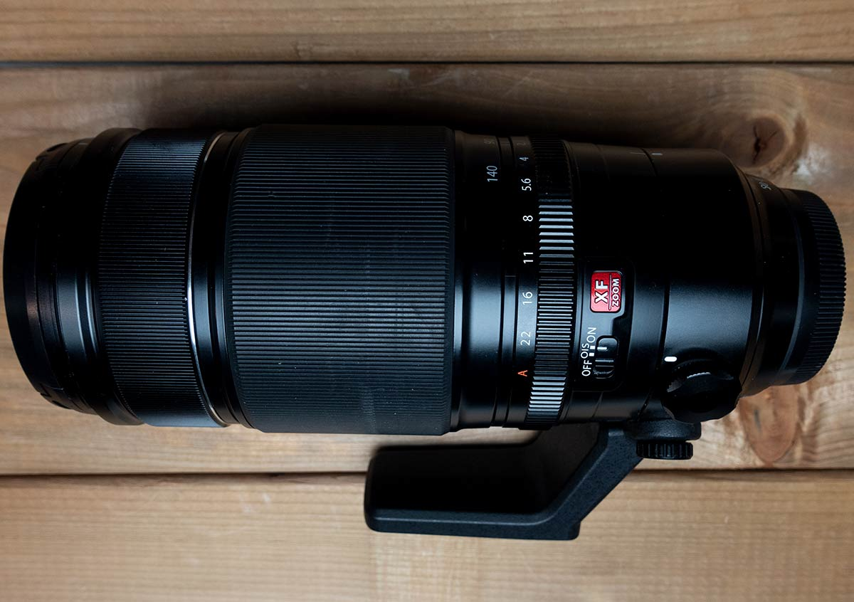 Top view of the Fujinon 50-140mm f2.8