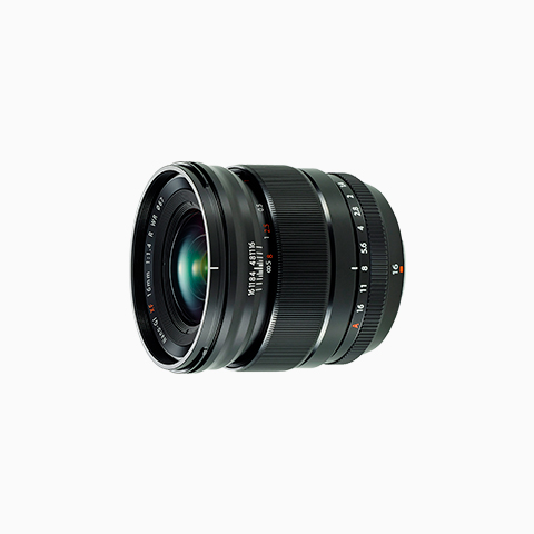 Fujinon 16mm f/1.4 sideview