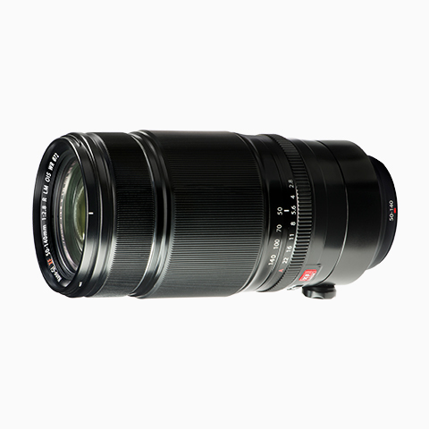 Fujinon 50-140mm f/2.8 lens sideview