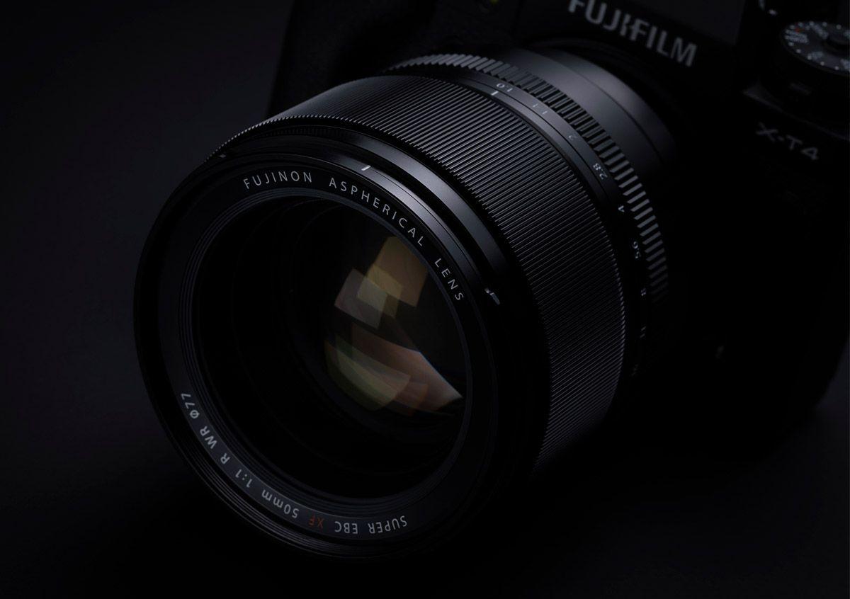 Fujifilm XF50mm f/1.0 R WR on a Fujinon XT4 body