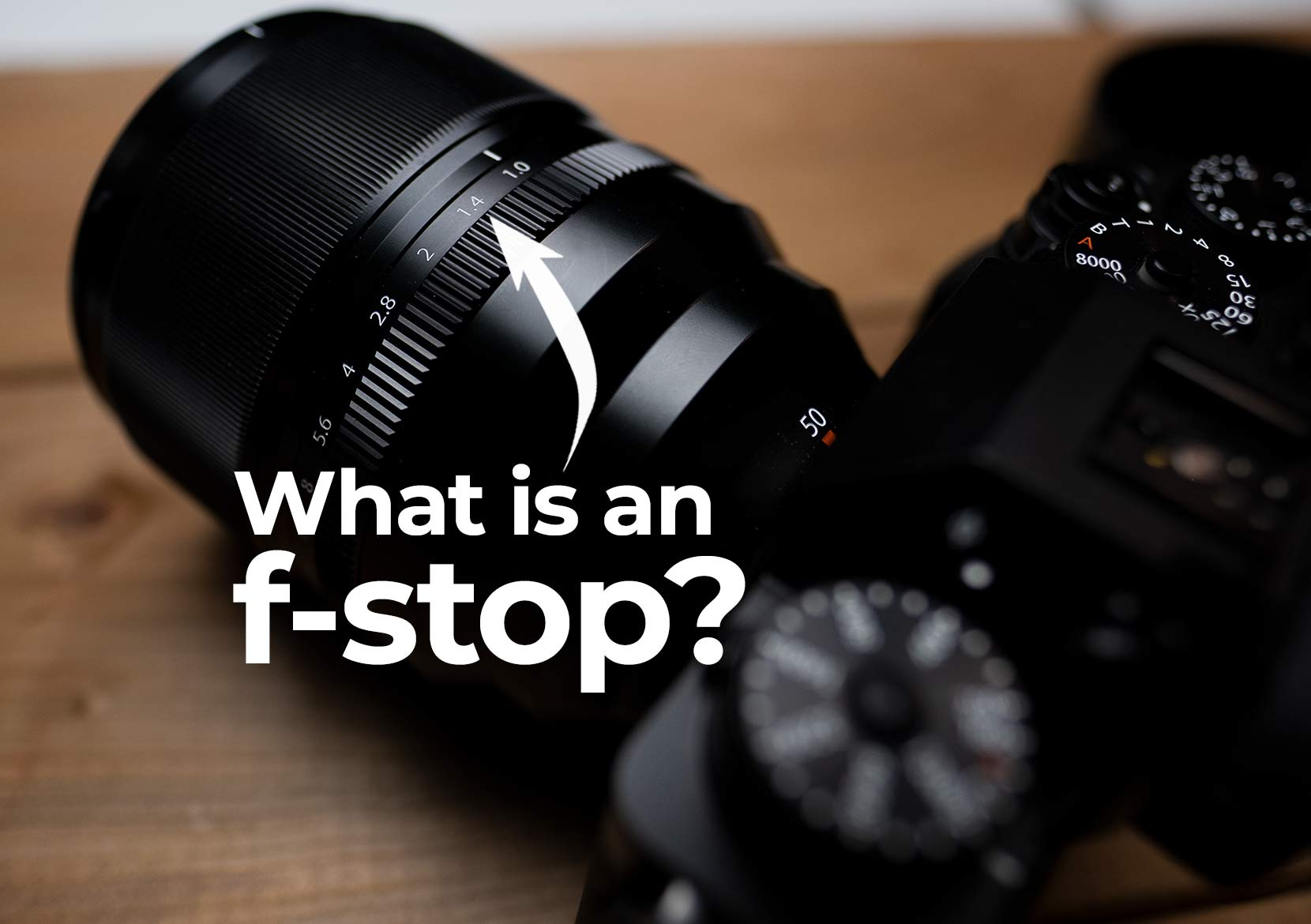 What is an f-stop? Photography 101