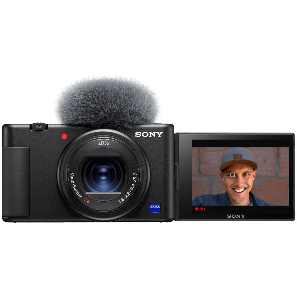 Front view of the Sony ZV-1