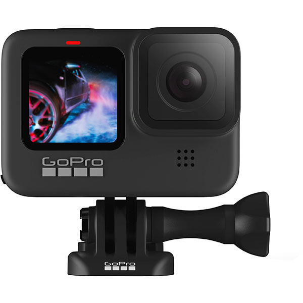 Front view of the GoPro Hero9